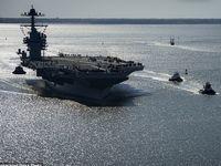 آمریکا در حال عقب کشیدن ناوهای خود از خلیج فارس است