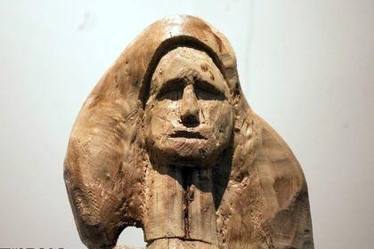 نقاشی و مجسمههای هنرمند سمنانی +عکس