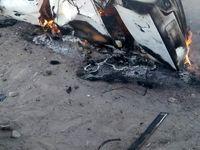 5 کشته در تصادف جاده سیستان و بلوچستان +عکس