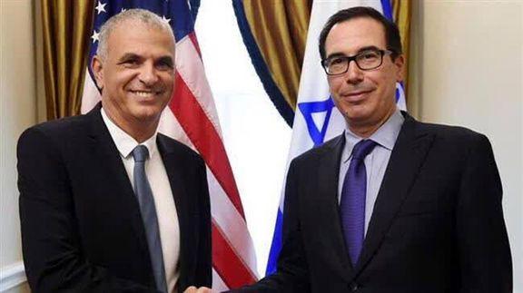 همکاری وزیران آمریکا و رژیمصهیونیستی برای افزایش تحریم ایران