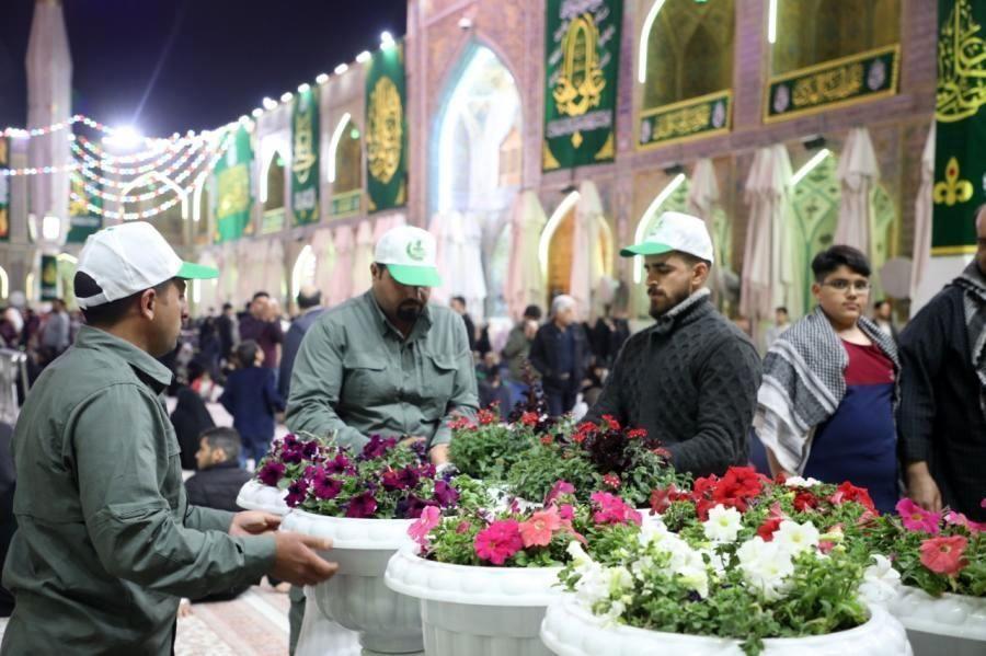 تصاویری از حرم امیر المومنین علیه السلام در شب میلاد