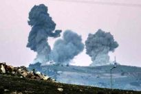 حملات خمپارهای به فرودگاه دمشق