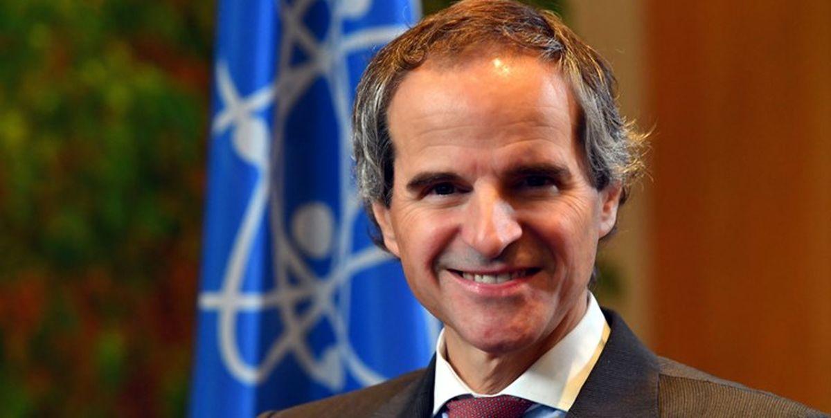 کنفرانس خبری رافائل گروسی درباره ایران به تعویق افتاد