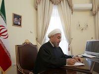پیام تسلیت روحانی برای سقوط هواپیمای ترابری روسیه
