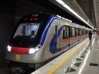 فردی خود را در تهران زیر قطار مترو انداخت