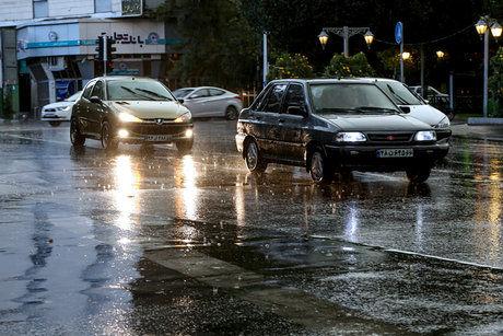 احتمال بارش پراکنده در تهران و ۸ استان دیگر