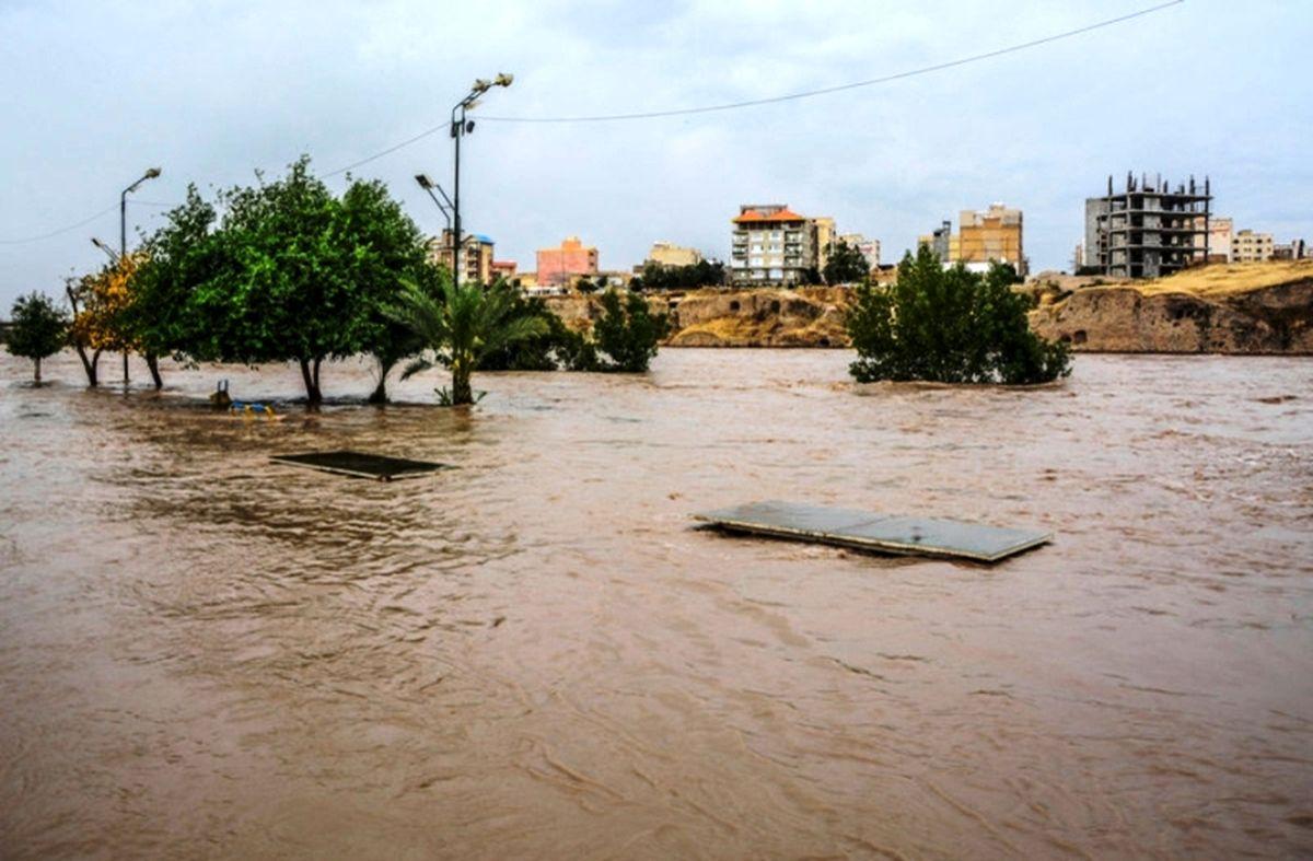 احتمال بروز سیل در استانهای غربی