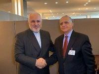 رایزنی ظریف با وزیر امور خارجه عراق