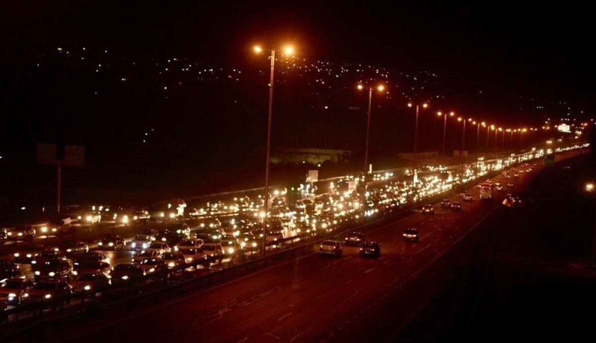 ترافیک سنگین جادههای مازندران را قفل کرد