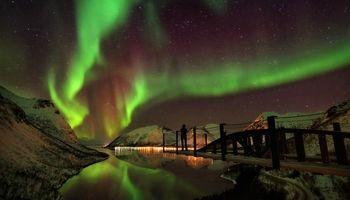 زیبایی خیرهکننده شفق قطبی +تصاویر