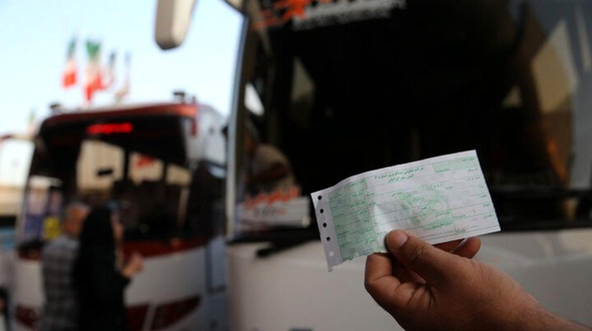 ممنوعیت فروش بلیت اتوبوس و تاکسی بینشهری به کروناییها