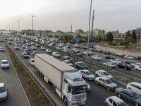 ترافیک سنگین و نیمه سنگین در اکثر محورهای مواصلاتی کشور