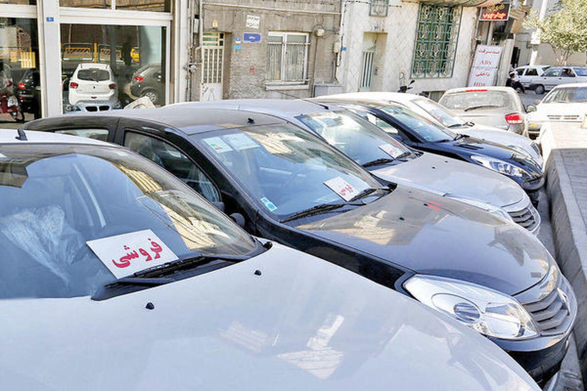 کاهش معاملات خودرو در نیمه نخست مهر