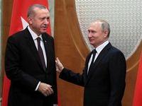 پوتین آب پاکی را روی دست اردوغان ریخت