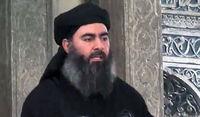 فیلم منتشر شده توسط رسانه داعش از ابوبکر البغدادی