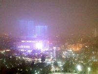 شب مهآلود مشهد +تصاویر