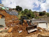 رانش زمین در برزیل ۷کشته بر جای گذاشت +عکس