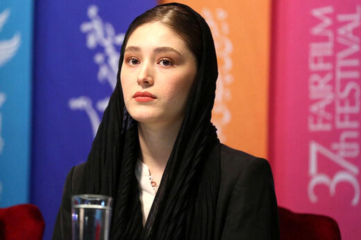 فرشته حسینی پاسخ  فیلم عاشقانه نوید محمدزاده را داد + عکس