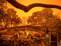 آتشسوزیهای گسترده در کالیفرنیا ادامه دارد +تصاویر