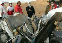 حادثه رانندگی ۴کشته و صدوم برجا گذاشت