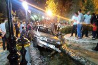 راننده پراید مردم را در چشمه اعلای دماوند زیر گرفت +عکس
