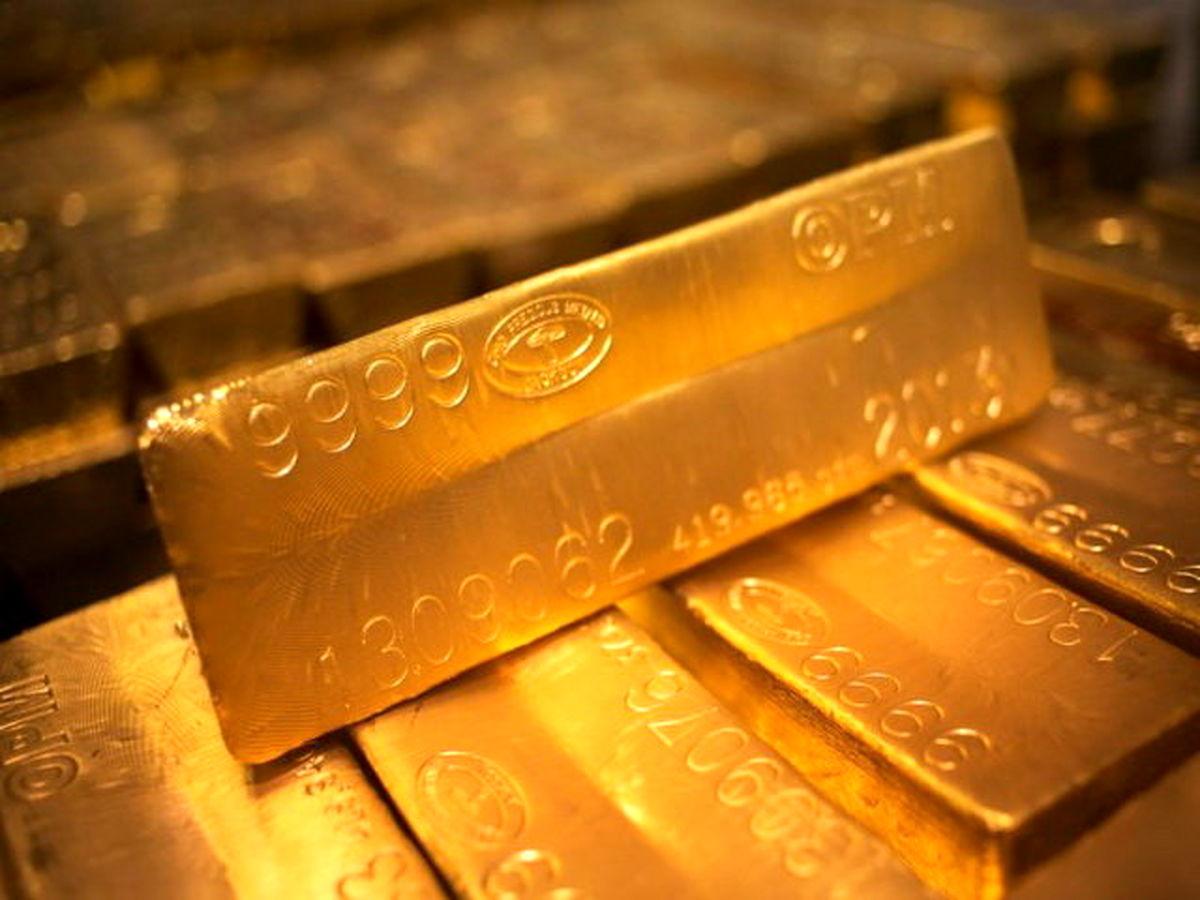 کاهش ادامه دار اونس جهانی طلا