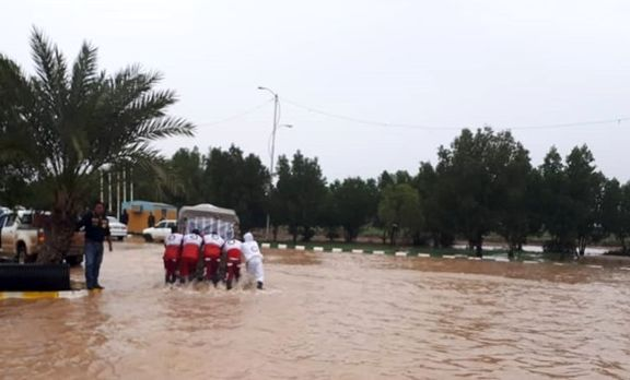 یکی از شهرهای خوزستان تخلیه شد