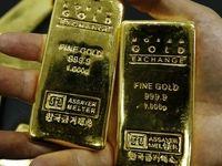 طلا نزدیک به 6دلار ارزان شد