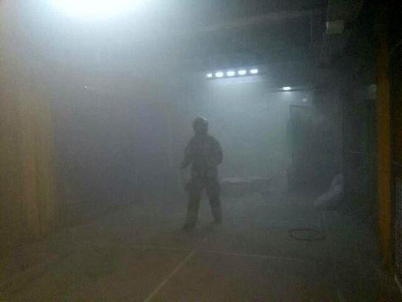 آتشسوزی در یکی از مراکز درمانی تهران