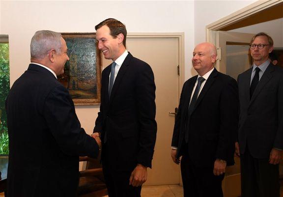 دیدار نتانیاهو با داماد ترامپ و نماینده آمریکا در امور ایران