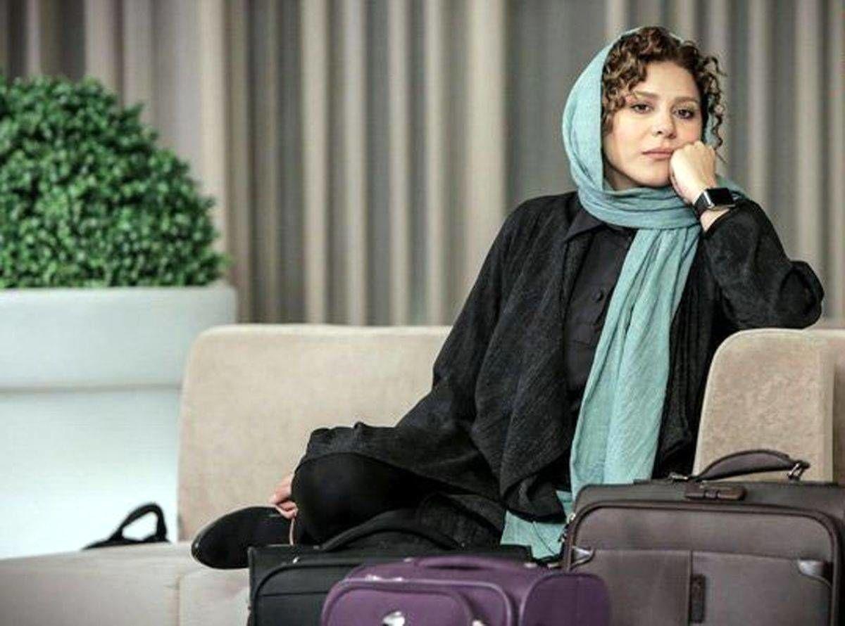 سحر دولتشاهی در مراسم ختم عزت الله مهرآوران + عکس