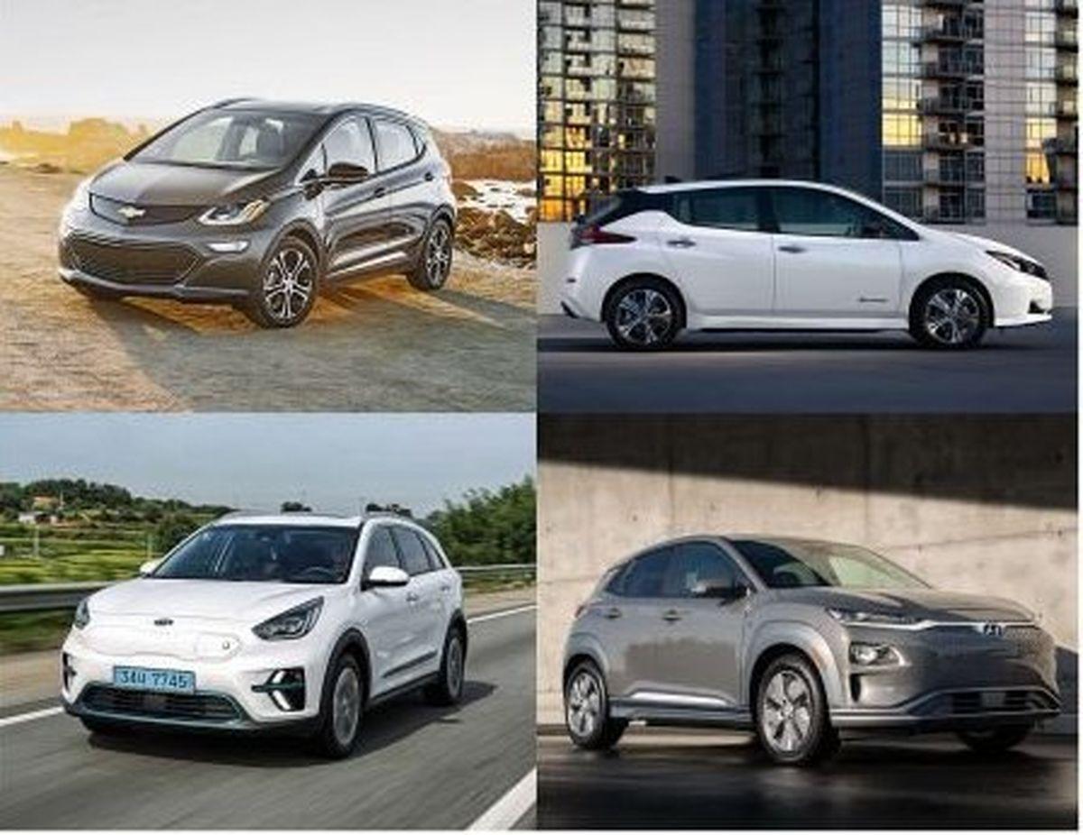 پرفروشترین خودروهای برقی در سال ۲۰۱۹