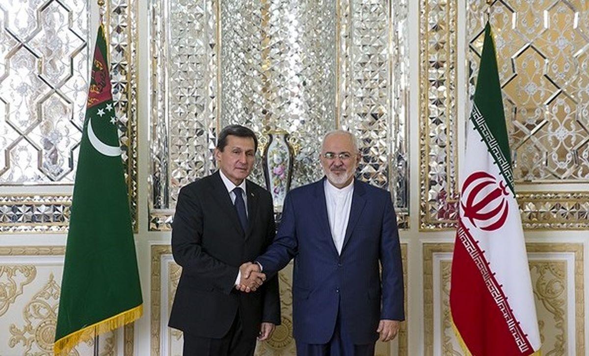رایزنی وزرای خارجه ایران و ترکمنستان در تهران