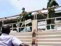 فیلمی از نحوه توزیع غذا بین قرنطینه شدگان توسط ارتش کنیا