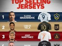 پرفروشترین پیراهن بازیکنان لیگ فوتبال آمریکا