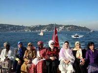 همسر جهانگیری در ضیافت ناهار همسر اردوغان +تصاویر
