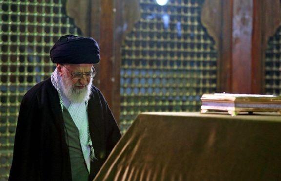 حضور رهبر انقلاب در حرم امام خمینی(ره)
