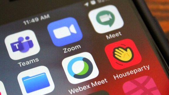 اپلیکیشنهای ویدیوکنفرانس رکورد زدند
