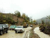 سیلاب در شهر نوکنده استان گلستان +فیلم