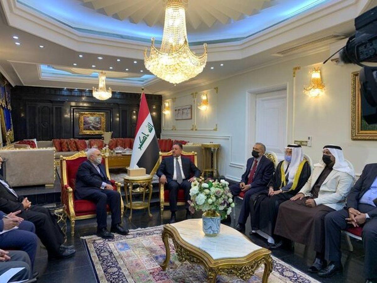 دیدار ظریف با شخصیتهای برجسته اهل تسنن و سران عشایر عراق