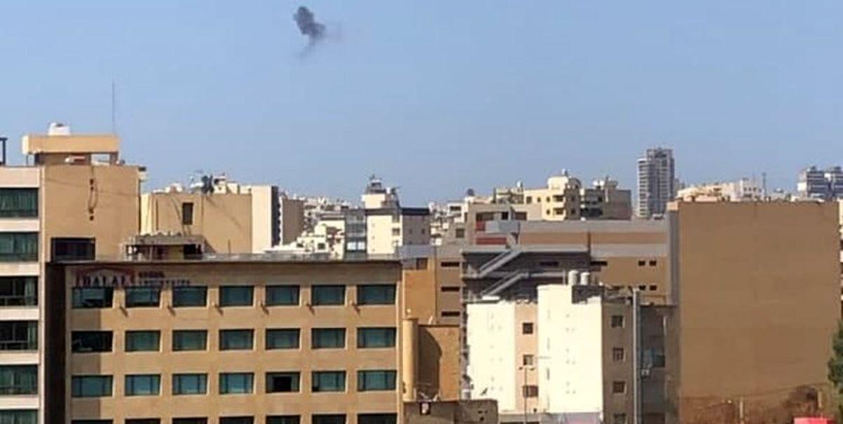 درگیری و تیراندازی در بیروت  + فیلم
