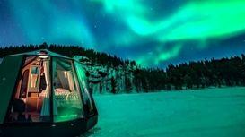 لوکسترین هتل قطب شمال چگونه است؟ +فیلم