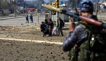 پیشروی نیروهای عراقی در موصل +تصاویر