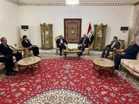 برهم صالح: در سختیها در کنار دولت و ملت ایران خواهیم ایستاد