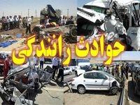 تصادف مرگبار در جاده ساحلی دلوار
