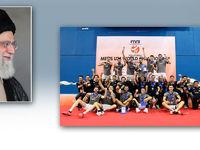 رهبر انقلاب قهرمانی تیم ملی والیبال جوانان را تبریک گفتند