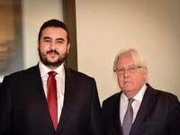 دیدار نماینده سازمان ملل با برادر بن سلمان