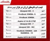 ارزانترین لپ تاپ چند؟/ ۴بهمن ۹۹