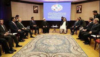 روحانی در کنفرانس رؤسای مجالس ۶کشور آسیایی +عکس