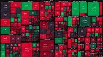 نقشه بورس امروز بر اساس ارزش معاملات / شاخص کل در ارتفاع یک میلیون و ۴۸۷هزار واحد قرار گرفت